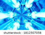 Ultraviolet Lamps In A Water...
