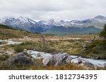 Glacier Water Rocky Stream...
