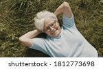 Senior Woman  Pensioner Lying...