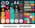 flat ui design eco city... | Shutterstock .eps vector #181280582