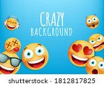 high quality yellow emoticon... | Shutterstock .eps vector #1812817825