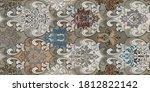 colorful digital wall tiles... | Shutterstock . vector #1812822142