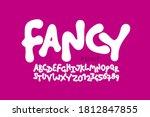 playful kids style font design  ... | Shutterstock .eps vector #1812847855
