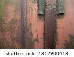 Background Of An Old Rusty...