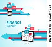 Finance Element Arrow Display...
