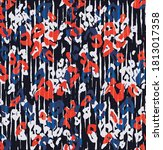 fashion woman new leopard...   Shutterstock .eps vector #1813017358