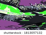 background with modern abstract ... | Shutterstock .eps vector #1813057132