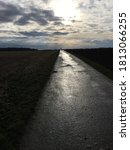 Small photo of road to a dark and lonely perdition