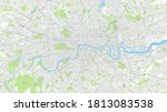 ity map london  color detailed ... | Shutterstock .eps vector #1813083538