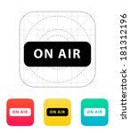 on air broadcasting icon.