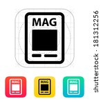 magazine icon.