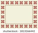 Fair Isle Christmas Frame  ...