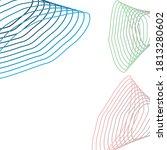 color line for technology... | Shutterstock .eps vector #1813280602