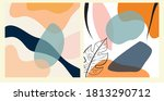 abstract backgrounds posters... | Shutterstock .eps vector #1813290712