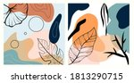 abstract backgrounds posters... | Shutterstock .eps vector #1813290715
