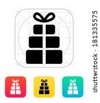 gift boxes icon.