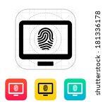 desktop fingerprint icon.