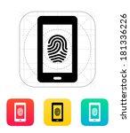 phone fingerprint icon.