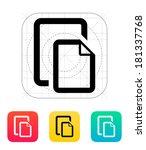 two files icon.