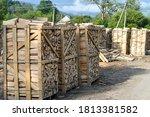 Big Stack Of Chopped Firewood...