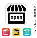 shop open icon.