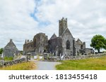 Quin Friary And Graveyard In...