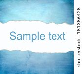 abstract blue background with...   Shutterstock . vector #181386428