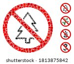 collage no fir tree icon... | Shutterstock .eps vector #1813875842