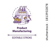 product manufacturing concept... | Shutterstock .eps vector #1813932878