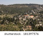 beautiful photo panorama    ein ... | Shutterstock . vector #181397576