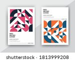abstract geometric cover design ... | Shutterstock .eps vector #1813999208