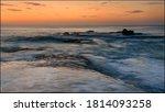 Ocean At Dawn In Colour