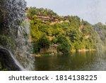 Waterfall In Furong Zhen Town ...