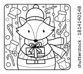 Christmas Coloring Page For...