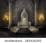 Throne Room Palace Background