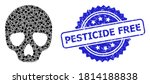 Pesticide Free Unclean Stamp...