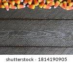 Candy Corn Halloween Background ...
