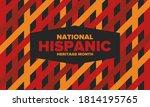 national hispanic heritage... | Shutterstock .eps vector #1814195765