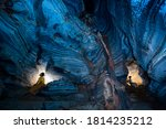 The Room In Blue Cave  Amazing...