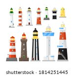 Lighthouse Vector. Different...