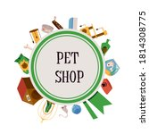 Pet Shop Poster With Animal...