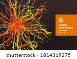 science conference. point... | Shutterstock .eps vector #1814319275
