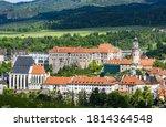 View Of Beautiful Czech Castle...