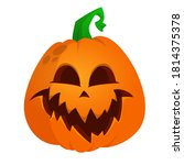 Cartoon  Halloween Pumpkin Head ...