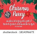 christmas font. holiday... | Shutterstock .eps vector #1814396675
