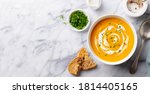 Pumpkin Traditional Soup With...