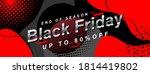 geometric black friday design... | Shutterstock .eps vector #1814419802