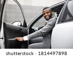 Cheerful Black Man In Expensive ...