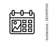 calendar picture icon. simple...