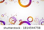 abstract background with... | Shutterstock .eps vector #1814544758